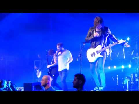 Asking Alexandria w/Danny Worsnop - Run Free LIVE Corpus Christi Tx. 11/26/16