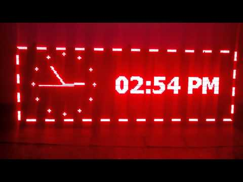 SINGLE COLOR LED OUTDOOR DISPLAY