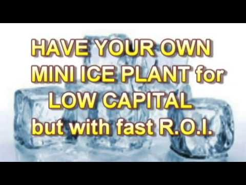 Mini Ice Plant Business Opportunity