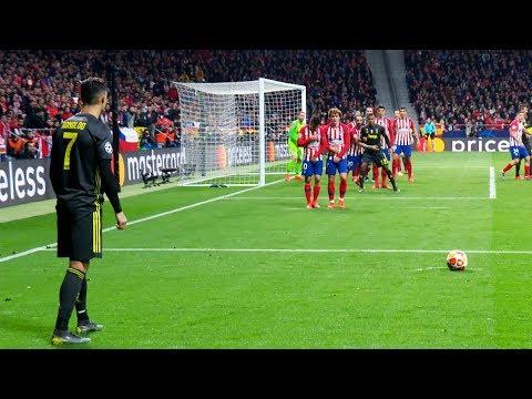Cristiano Ronaldo Scoring Ridiculous Free Kick Goals