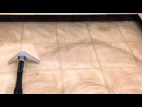 Linoleum Floor Cleaning YouTube - Linoleum floor stain removal