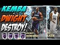 NBA 2K18 MYTEAM DIAMOND DWIGHT HOWARD AND KEMBA WALKER GAMEPLAY! I DIDN'T EXPECT THAT!
