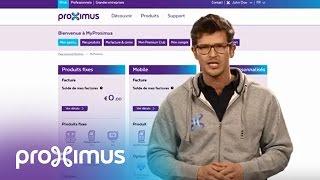 Ajouter vos produits fixes dans MyProximus