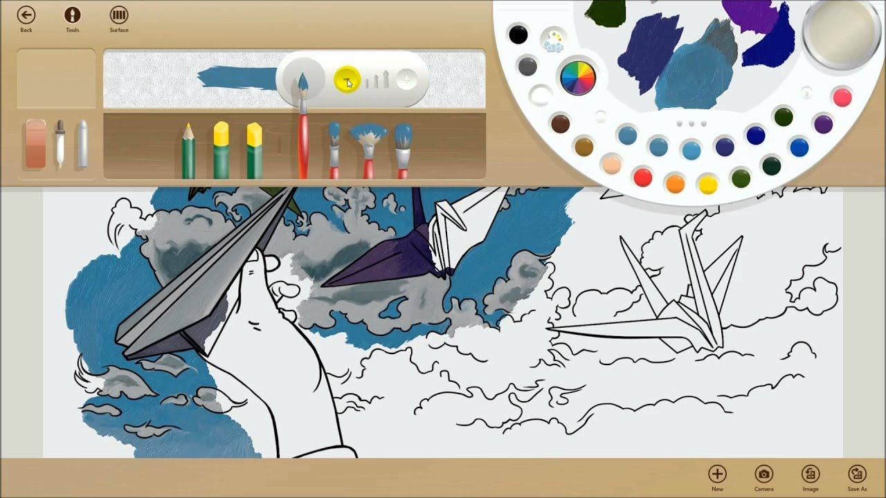 App Fresh Paint Windows 8