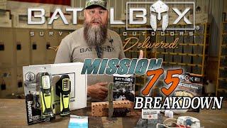 BATTLBOX MISSION 75 BREAKDOWN