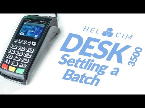 how-to-settle-a-batch-on-the-ingenico-desk-3500-credit-card-terminal