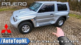 Mitsubishi Pajero Evolution REVIEW POV Test Drive by AutoTopNL