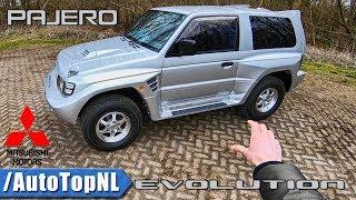 Mitsubishi Pajero Evolution REVIEW POV Test Drive by AutoTopNL