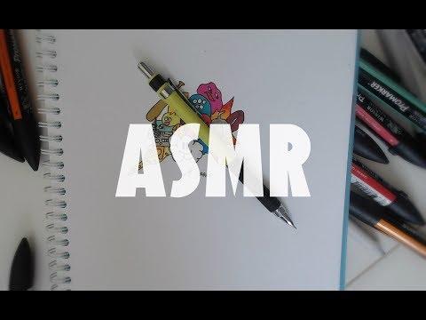 ASMR - Dessin DoodleArt [Carla ASMR]
