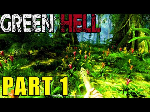 Amazon Rainforest Survival | Green Hell Story Mode 4K 1 Hour
