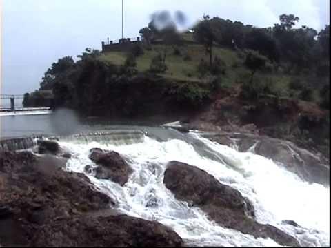 Beautiful Waterfall in Khutaghat Dam Bilaspur Ratanpur Chhattisgarh Tourist Place