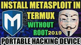 كيفية تثبيت Metasploit في Termux 2019 |Bz القراصنة