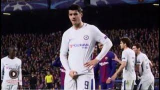 Chelsea news: Alvaro Morata made obscene gesture to Barcelona fans at Camp Nou