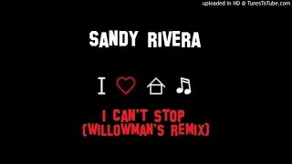 Sandy Rivera I Can T Stop WillowMan S Remix