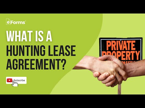 Hunting Lease Agreement - EXPLAINED