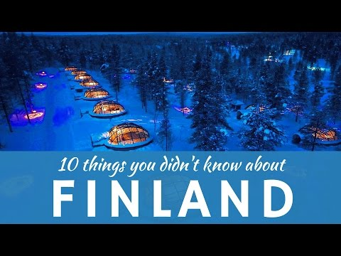 Finland: 10 things & awesome facts about Finns