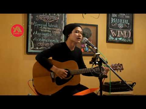 Judika - Mama Papa Larang (Cover Pengamen Pertama Kali Manggung Di Cafe)