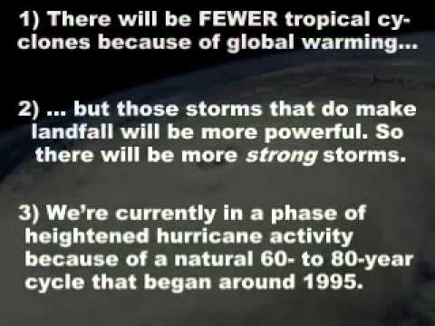 "Potholer54: ""11.ClimateChange -- Hurricanes, atolls and coral"""