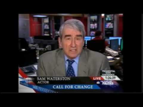 Sam Waterston on MSNBC on Fair Elections March 24, 2009