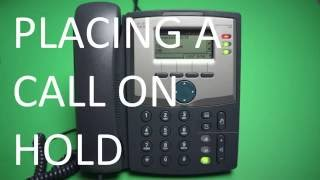 Cisco 303 - Placing a Call on Hold