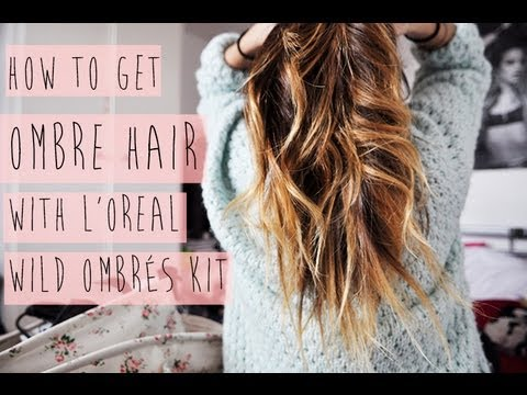 diy how to get ombre hair with l 39 oreal paris youtube. Black Bedroom Furniture Sets. Home Design Ideas