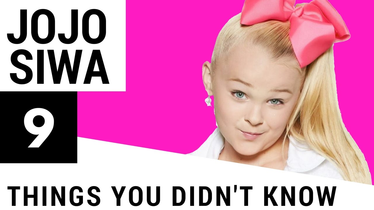 9 things you didn t know about jojo siwa youtube. Black Bedroom Furniture Sets. Home Design Ideas