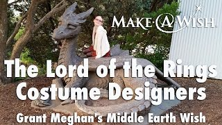 The Lord of the Rings Costume Designers Grant Meghan