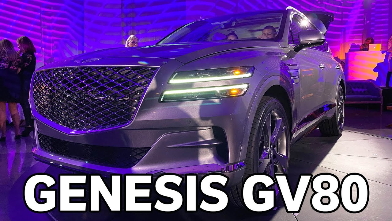 2021 Genesis GV80: First Look (New SUV for Genesis)