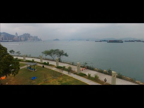 Hong Kong - West Kowloon - Beautiful Drone Shots - Parrot Bebop 2