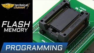 FLASH processor programming - how to read, change and save correctly
