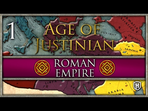 "Remnants of an Empire | Roman ""Byzantine"" Empire #1 - Age of Justinian 2 Mod"