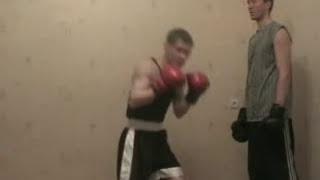Очень эффективный приём бокса!(Коронная комбинация великого Джека Демпси! http://training.bestboxing.ru - Пошаговый видео-самоучитель бокса! http://shpagat.a..., 2010-03-22T18:40:00.000Z)