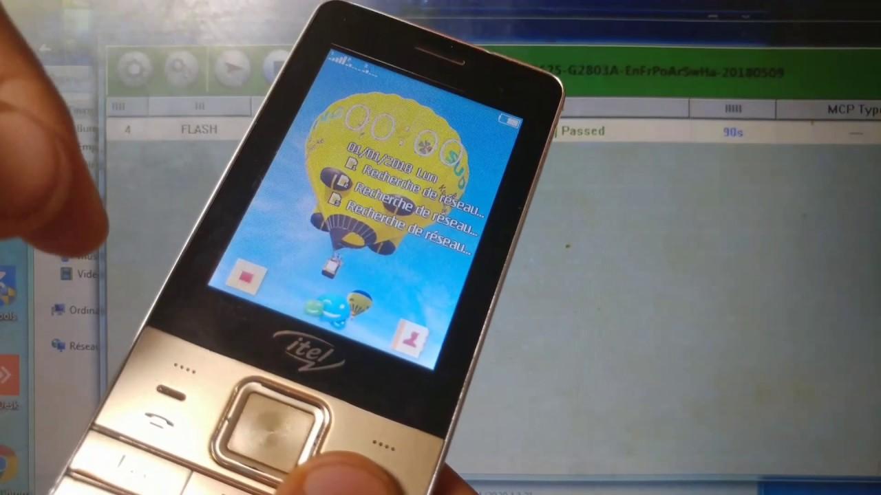 Download Deblocage et Reprogrammation de Telephone chinois : ITEL 5625