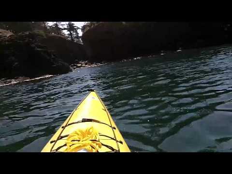 Kayaking Deception Pass, Whidbey Island, WA