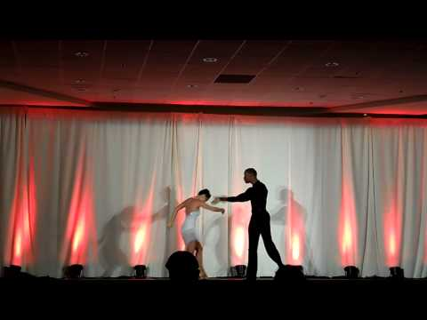 Mark Brewer & Kiri Chapman Cabaret at Toronto Bachata Congress 2013