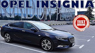 NOVA OPEL INSIGNIA GRAND SPORT INNOVATION ! TEST DRIVE