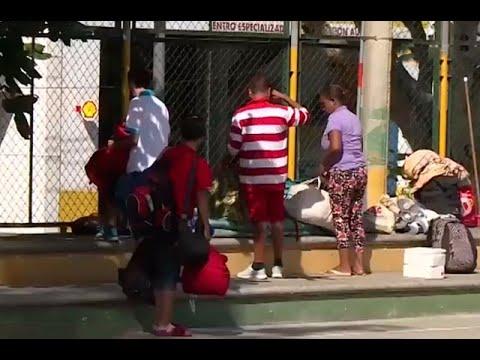 La gran migración: varados están varios migrantes venezolanos en Bucaramanga