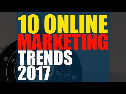 10 Awesome Online Marketing Trends | Web Marketing | Eduonix
