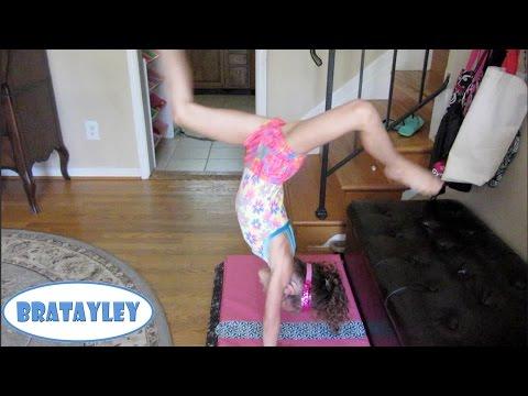 Hayley's First Kick Over! (WK 193.2)   Bratayley