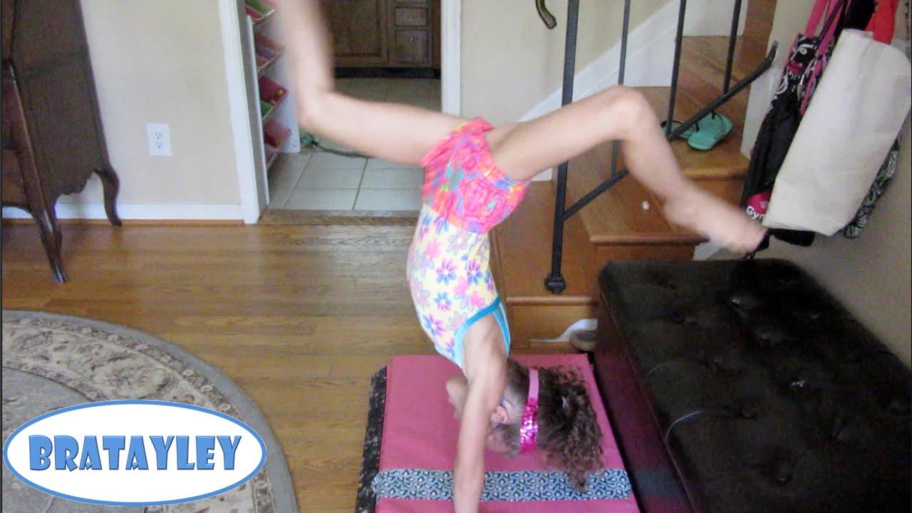 Hayley S First Kick Over Wk 193 2 Bratayley Youtube