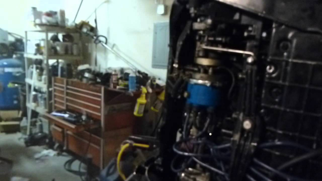 Water Pump Impeller >> Mercury Tower of Power inline 6 outboard running with new water pump impeller installed - YouTube