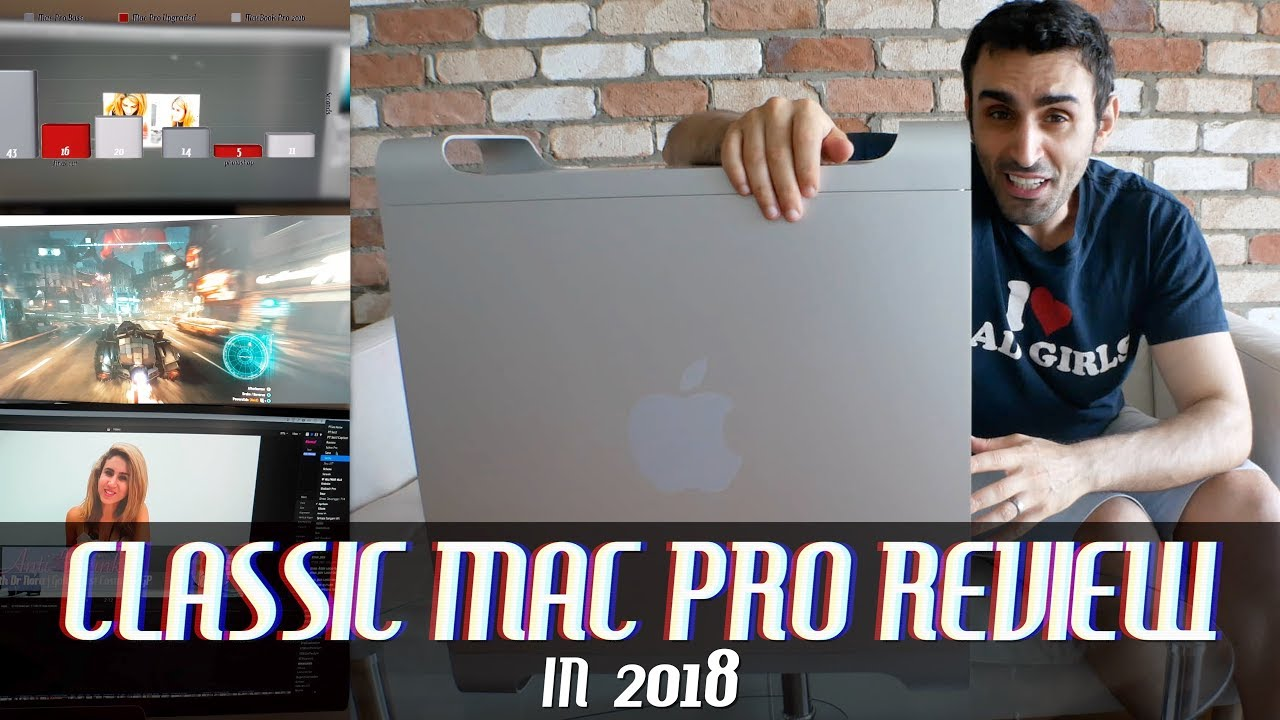 Apple Mac Pro 5,1 in 2018 | Upgraded to 6-Core RX580 for Video Editing,  Gaming, Mining