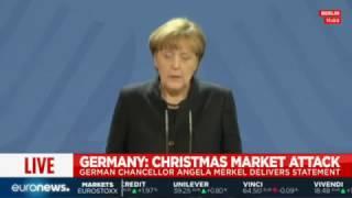 """Merkel on Berlin attack: """"We don"""
