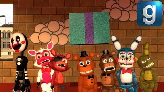 Gmod FNAF | FNAF World VS. FNAF 2