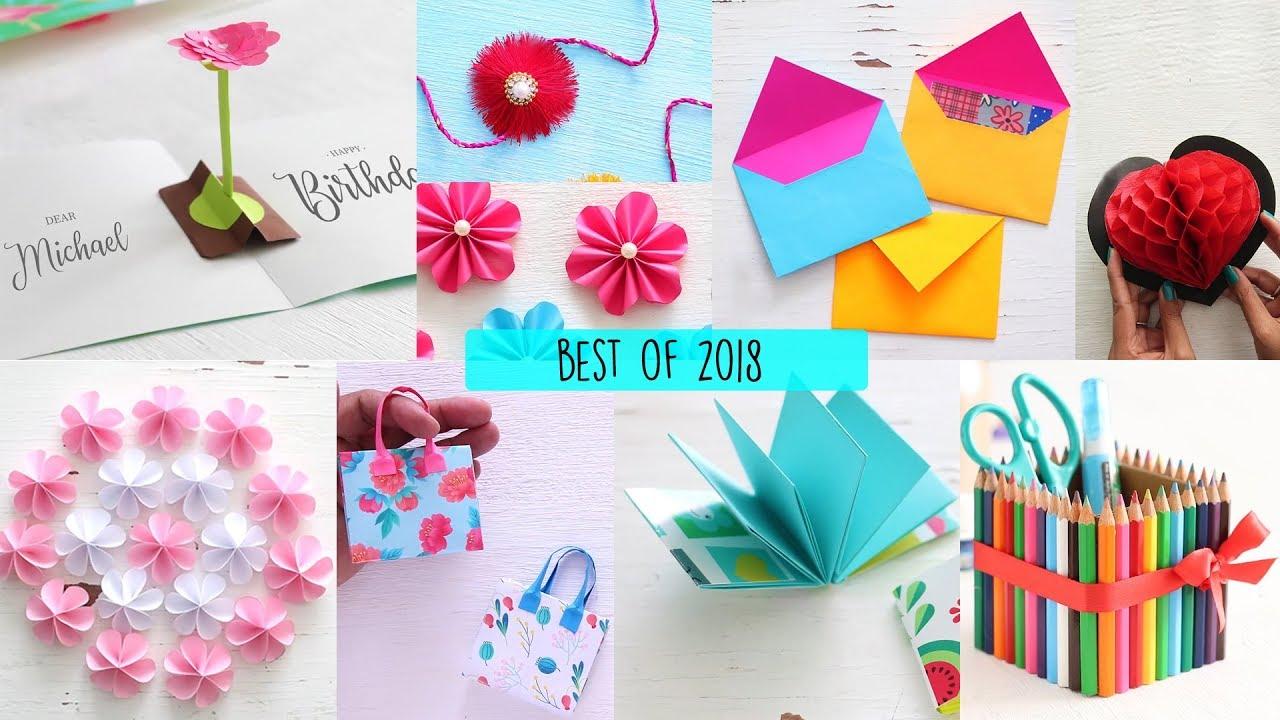 Best Of 2018 Diy Art And Craft Videos