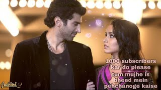 tum mujhe is bheed mein pehchanoge kaise Aashiqui 2 (best love song) Momen s #shortsvideo
