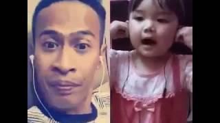 Repeat youtube video Memori Berkasih - Achey ( Karaoke Smule Kids )