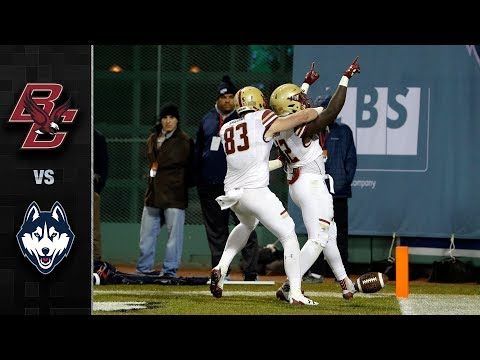 Boston College vs. UConn Football Highlights (2017)