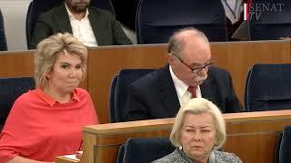 Posiedzenie Senatu  - 15.01.2020. Debata o ustawie dyscyplinującej sędziów
