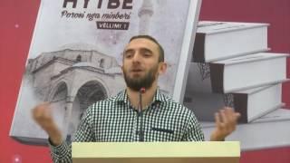 Hazbi Therra në promovimin e librave të Dr. Shefqet Krasniqit